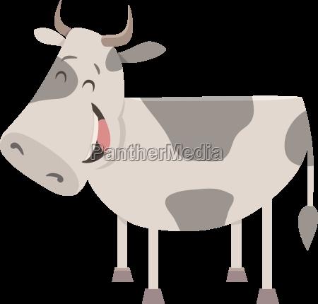 cow farm animal character