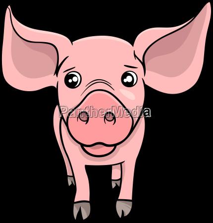 pig or piglet cartoon character