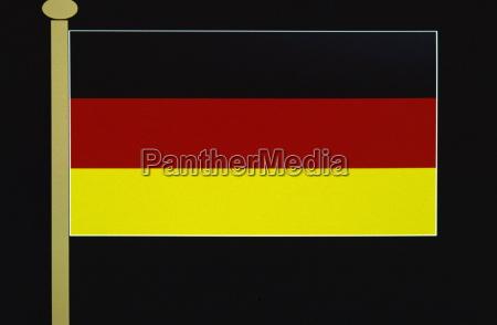 deutsch flaggedeutschlandeuropa