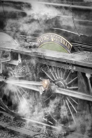 die, flying, scotsman, dampflokomotive, die, am, goathland - 20899231