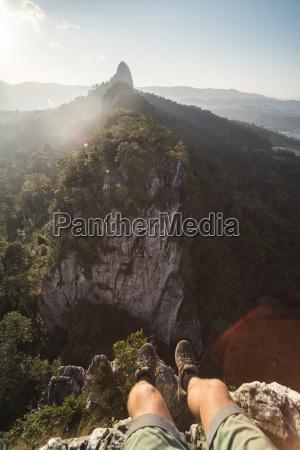 at the top of bukit tabur