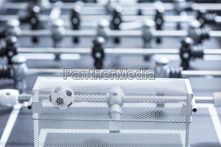 foosball table close up