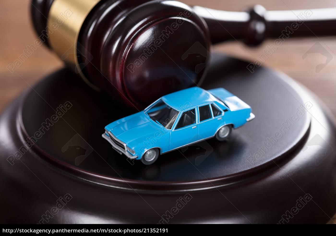 auto, auf, dem, schläger - 21352191