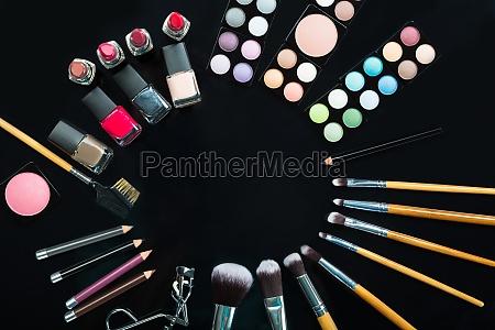 professionelle, make-up, pinsel, und, make-up, produkte - 21352395