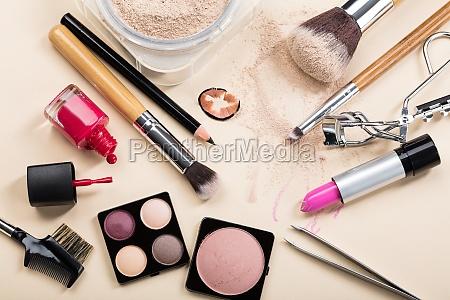 verschiedene, art, von, make-up-produkte - 21352403