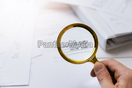 audit concept auditor checking bills