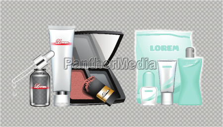 digital vector skin care cream