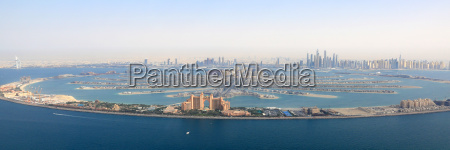dubai the palm jumeirah palme insel
