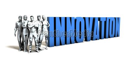 innovations geschaeftskonzept
